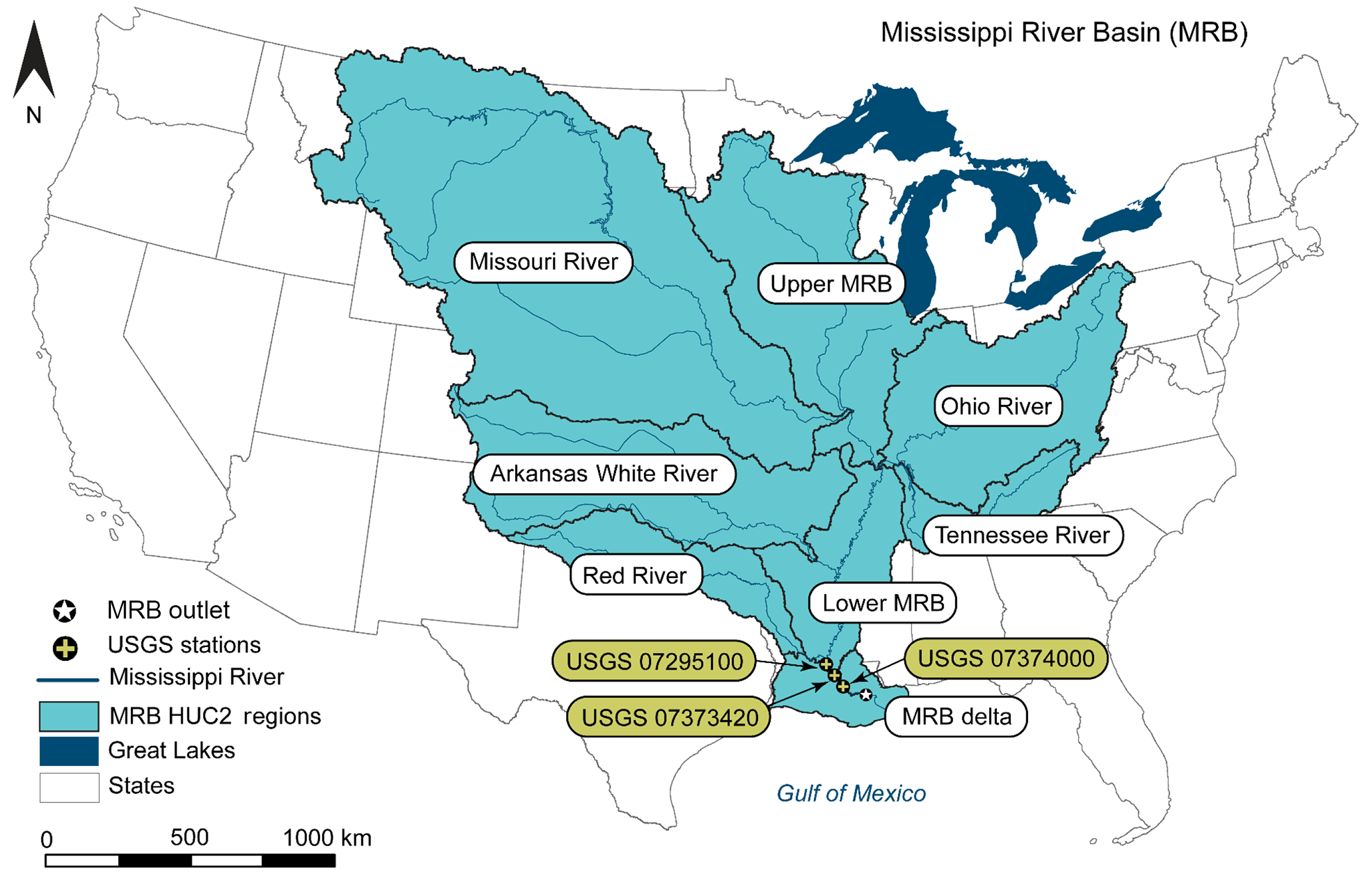 Map 31 Texas River Basins.Bg Integrating Multimedia Models To Assess Nitrogen Losses From