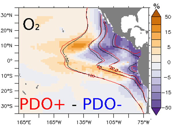 BG - Relations - Oxygen minimum zones in the tropical