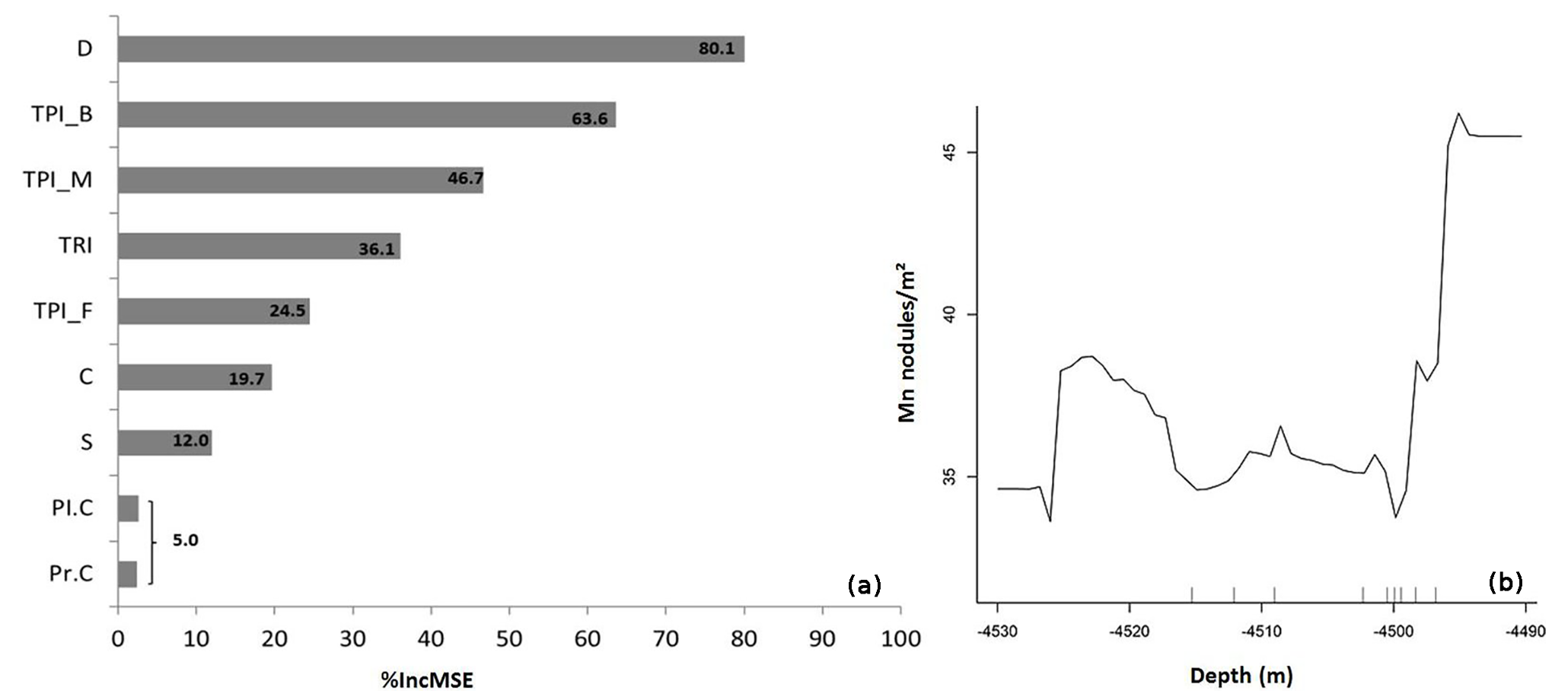 BG - Quantitative mapping and predictive modeling of Mn nodules