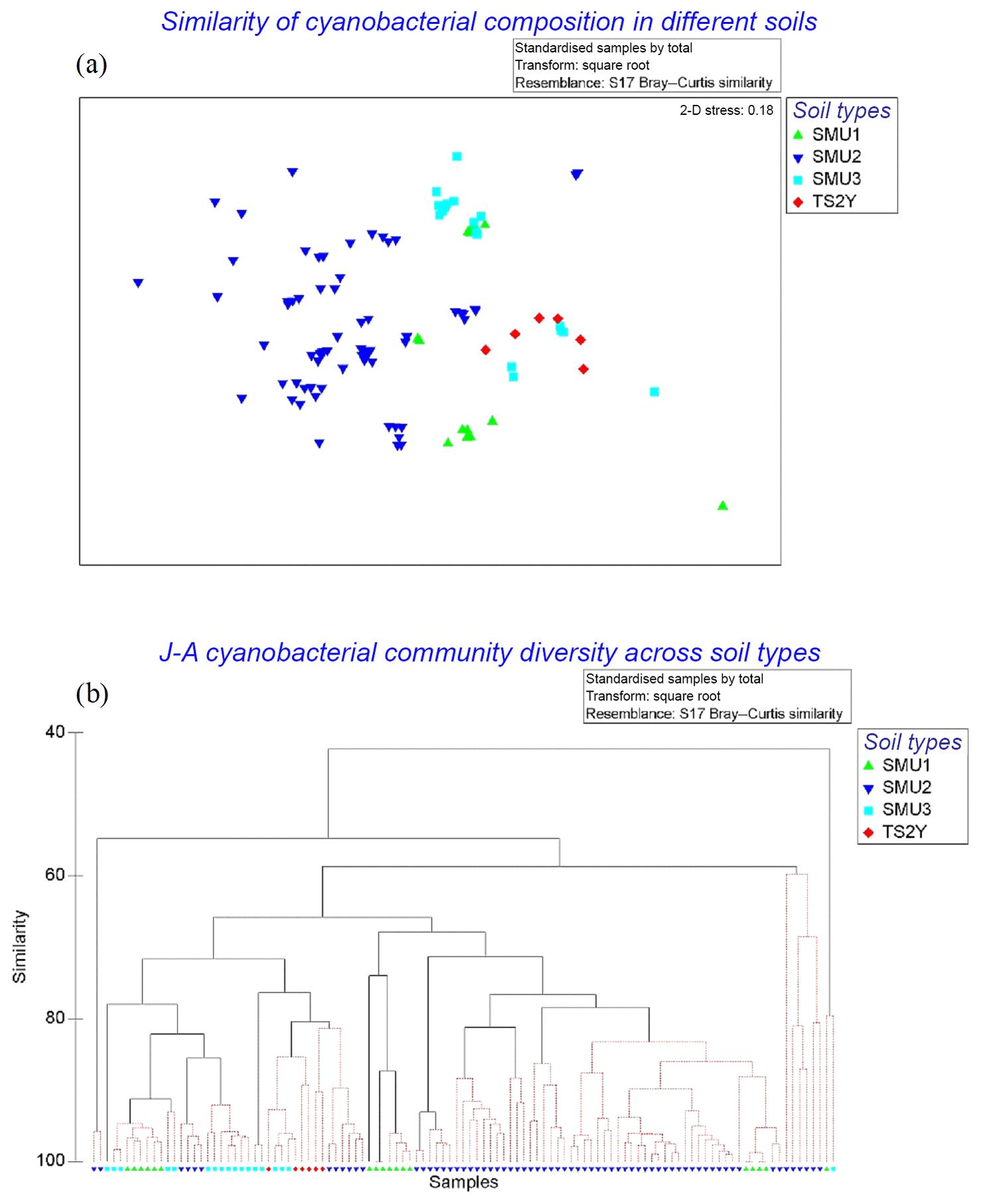 BG - Microbial biobanking – cyanobacteria-rich topsoil facilitates