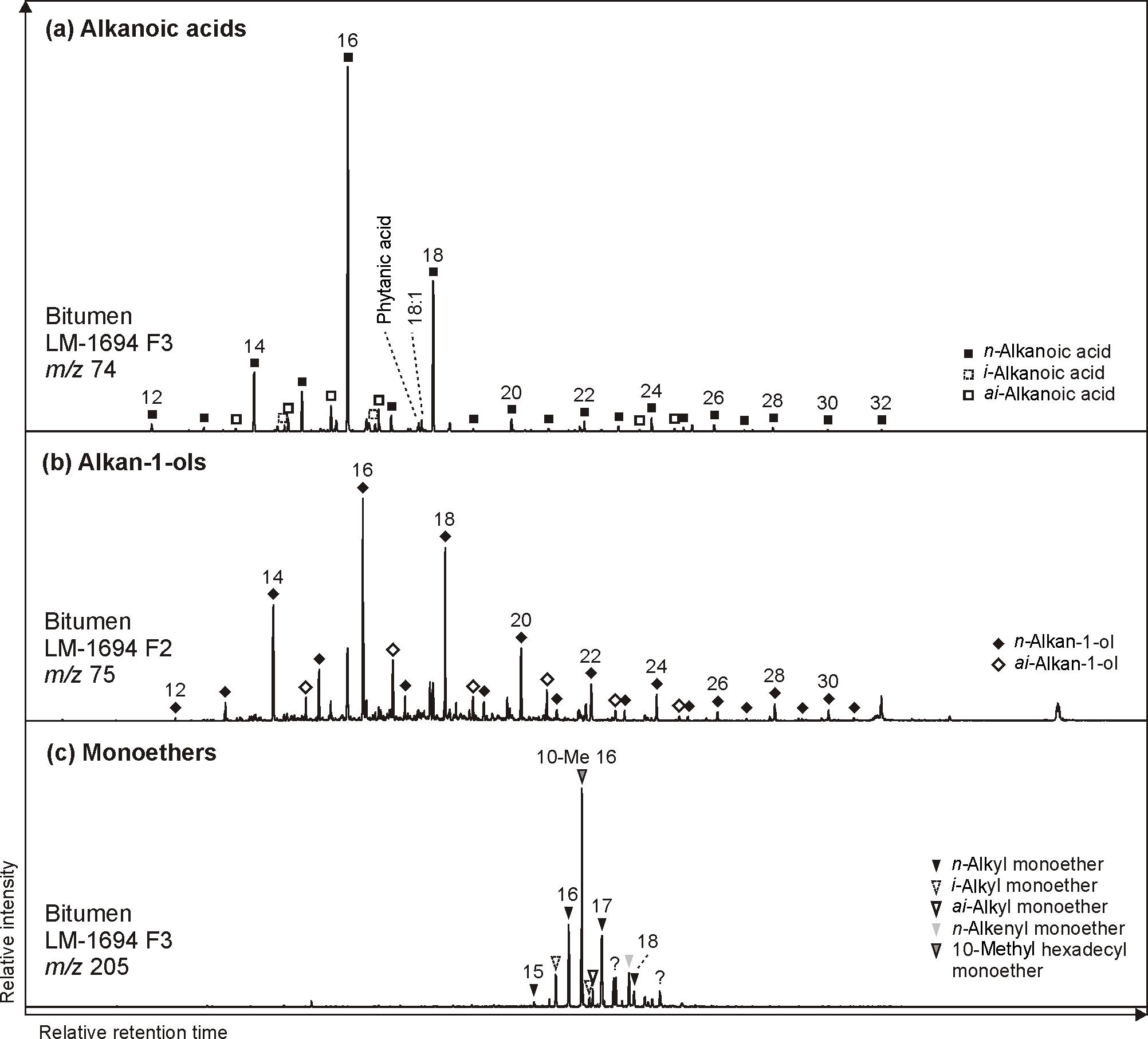 BG - Organic signatures in Pleistocene cherts from Lake