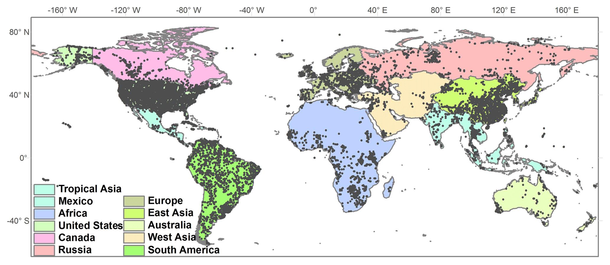 Matrix Insute Future Map Of The World on