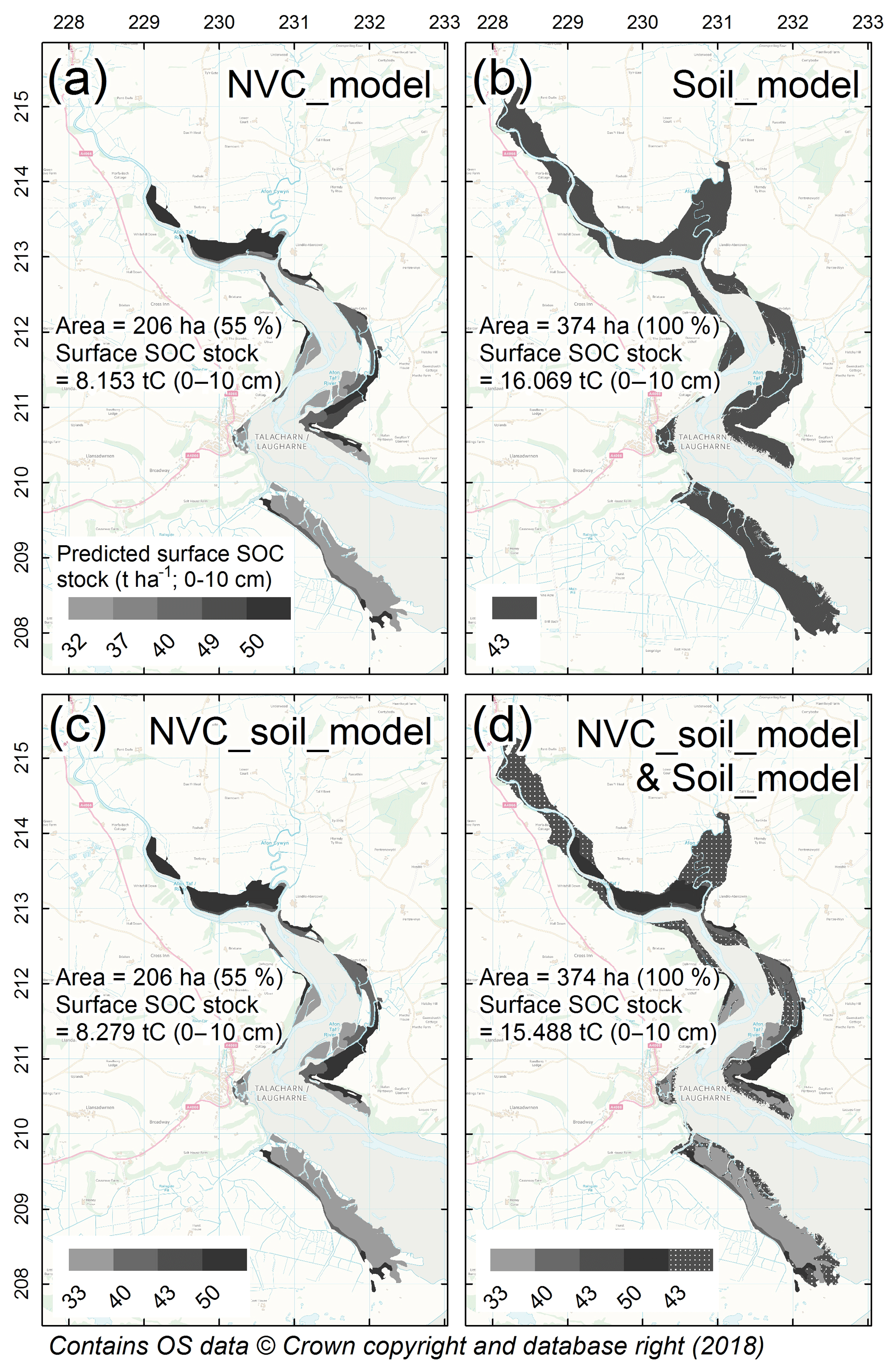 BG - Large-scale predictions of salt-marsh carbon stock based on