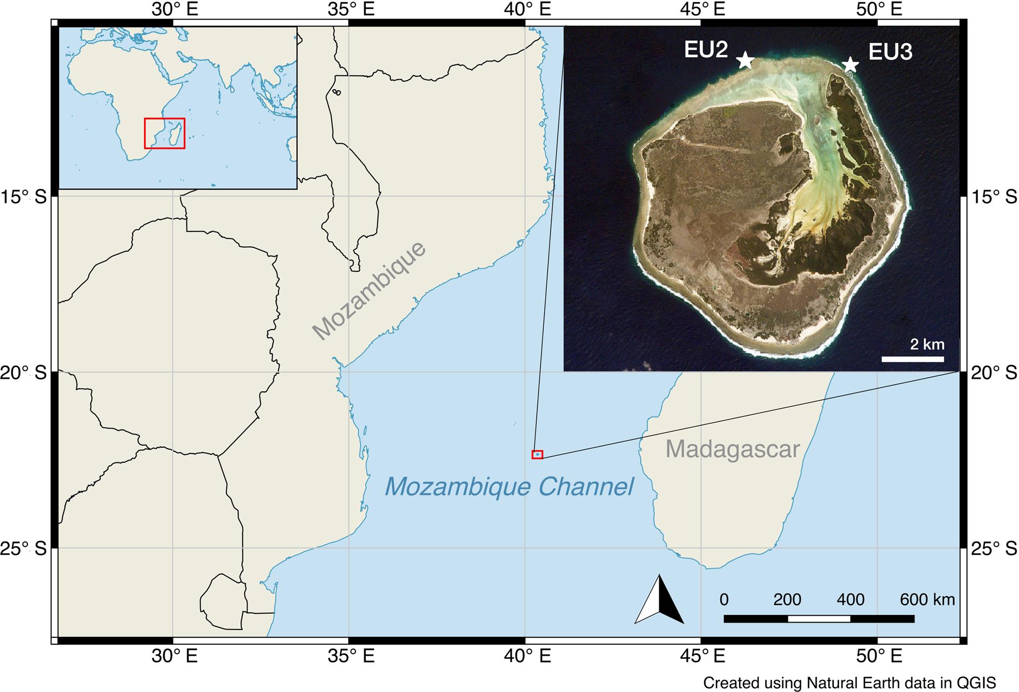 BG - Multi-trace-element sea surface temperature coral ... Mozambique Channel Map on